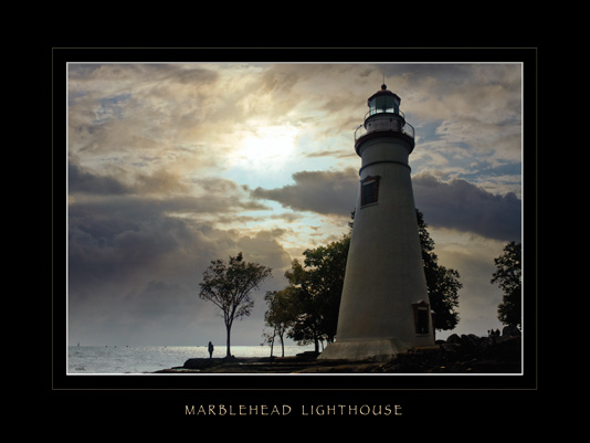 Marblehead Lighthouse Poster photo by Phil Uhl